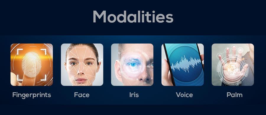 smart biometrics modalities