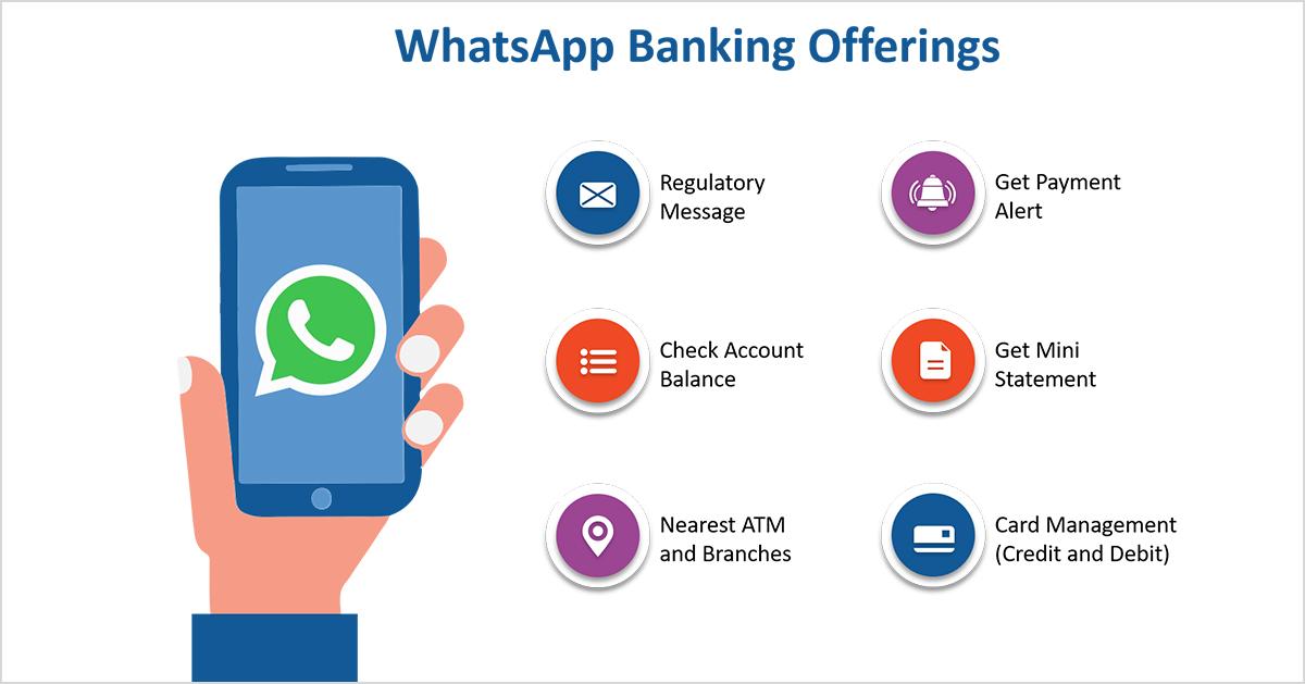 whatsapp banking offering